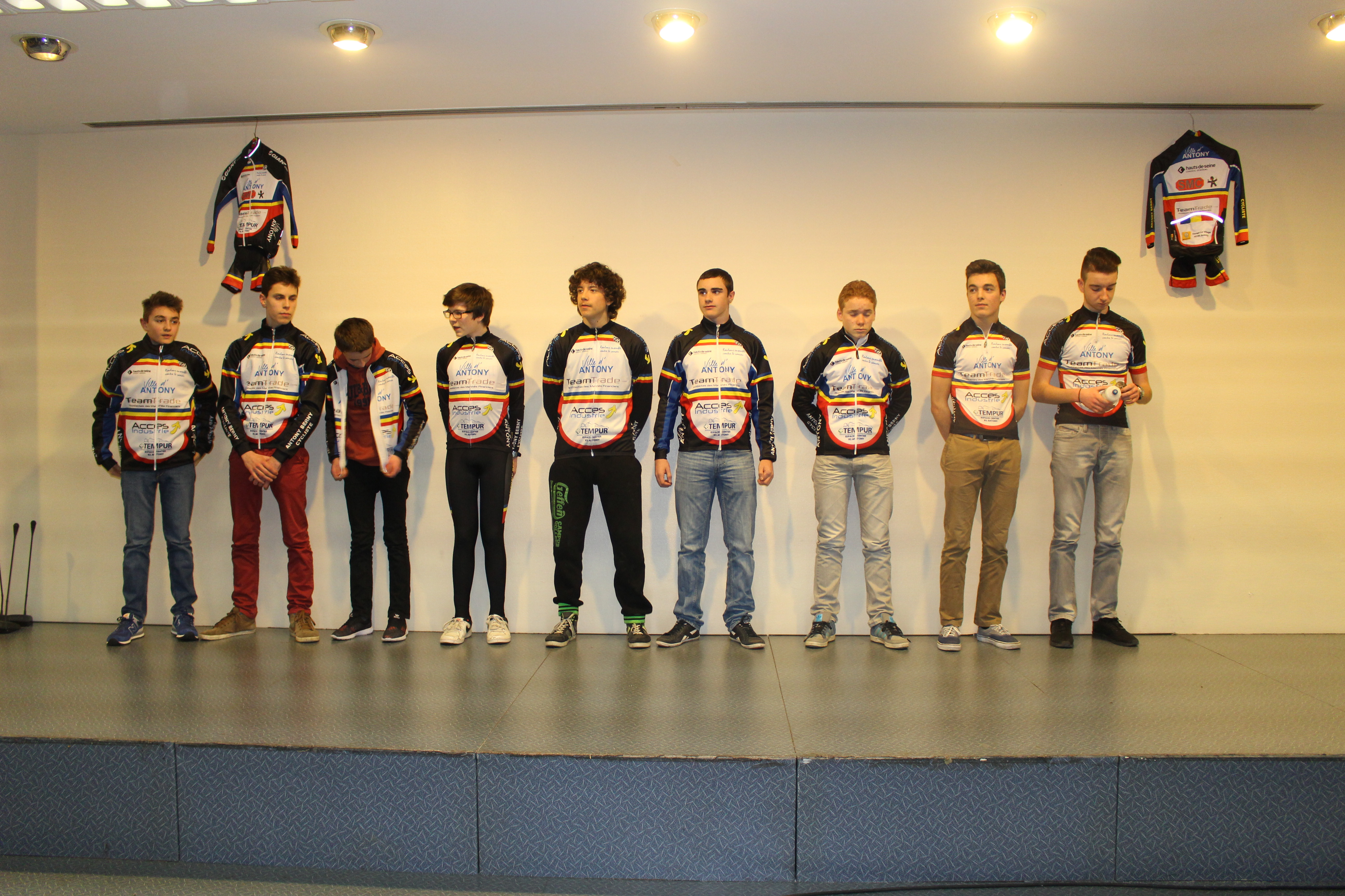 Equipe Cadets 2014 - 2015